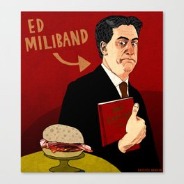 Ed Miliband Canvas Print