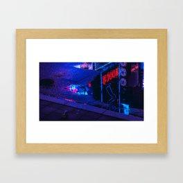 Tokyo Nights / Kabukicho Reflections / Liam Wong Framed Art Print