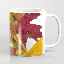 Autumn Fall Leaves Foliage Art Coffee Mug
