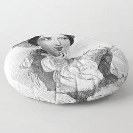 Princess of France Floor Pillow