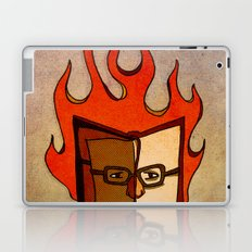 Prophets of Fiction - Ray Bradbury /Fahrenheit 451 Laptop & iPad Skin