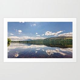 Loch Rannoch Art Print