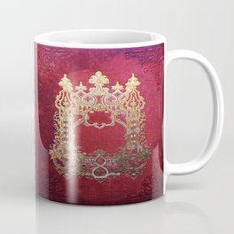 Ink Stained Crimson Book Coffee Mug