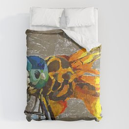 Silver dragonfly Comforters
