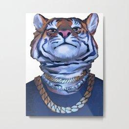 Misha Tiger Metal Print
