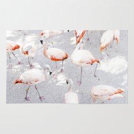 Pretty in Pink  |  Flamboyance of Flamingos Rug