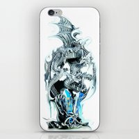 dragons iPhone & iPod Skins featuring dragons by Vector Art