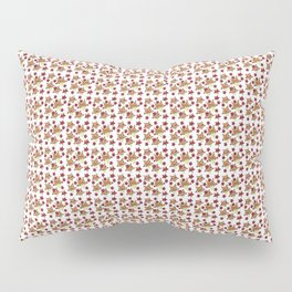 Toy Stars on White Pillow Sham