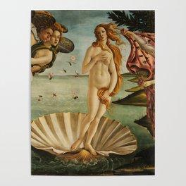 Birth Of Venus Sandro Botticelli Nascita di Venere Poster