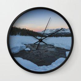 Bighorn Plateau - Pacific Crest Trail, California Wall Clock