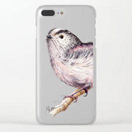 Long-Tailed Tit Clear iPhone Case