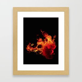All-Consuming Passion Framed Art Print