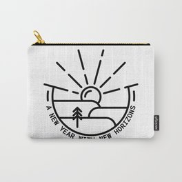 New Year, New Horizons Carry-All Pouch