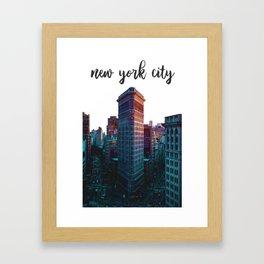 New York City Flatiron Building Framed Art Print