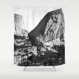 Broderick Liberty Cap Yosemite Shower Curtain