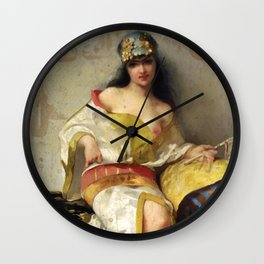 "Luis Ricardo Falero ""Spanish dancer"" Wall Clock"