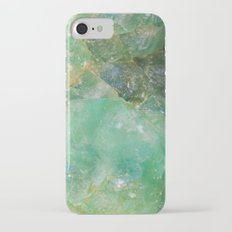 Absinthe Green Quartz Crystal iPhone 8 Slim Case