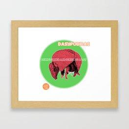 DASYPODIDAE Framed Art Print