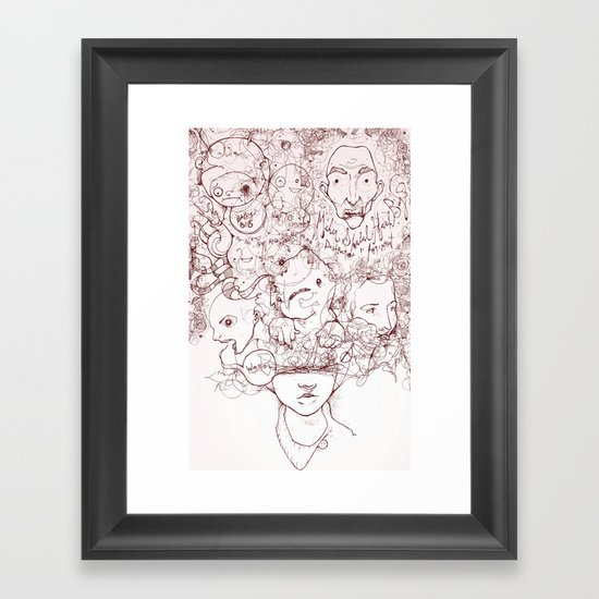 Drew Framed Art Print