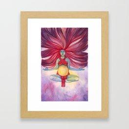 Return of the Sun Framed Art Print