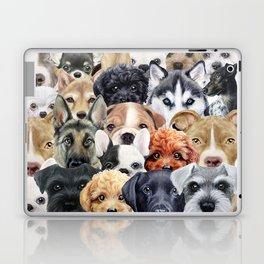 Dog All start, Dog illustration original painting print Laptop & iPad Skin
