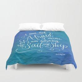 Sail My Ship Duvet Cover