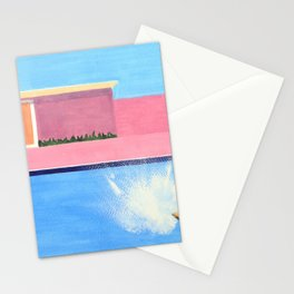 Splash! after David Hockney Stationery Cards