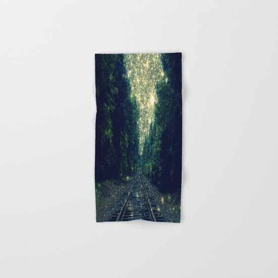 Dreamy Train Tracks Hand & Bath Towel