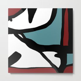 Abstract Painting Design - 1 Metal Print