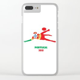 Portugal2 Clear iPhone Case