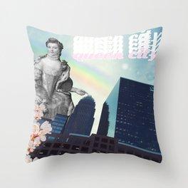 The Queen City Throw Pillow