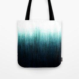 Teal Ombré Tote Bag