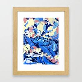 Baldface Out Back Framed Art Print