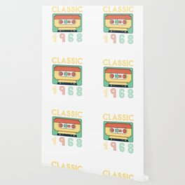 Classic 1968 Mixtape Cassette Birthday Wallpaper