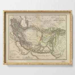 Map of Persia circa 1847 (Afghanistan, Pakistan, Iran) Serving Tray