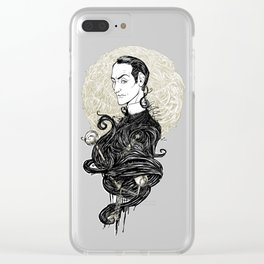 Sherlock Holmes - Consulting Detective Clear iPhone Case