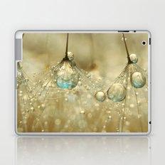 Golden Sparkles Laptop & iPad Skin