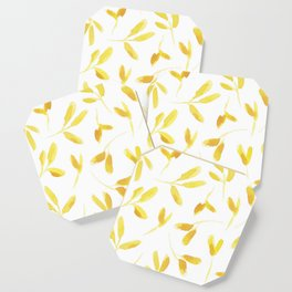 Yellow Leaves Coaster