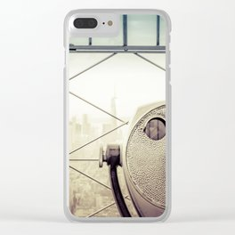 New York City Summer Clear iPhone Case