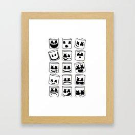 Marshmello Framed Art Print