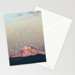 Mountain Mandala Stationery Cards