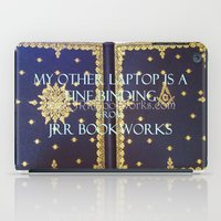 laptop iPad Cases featuring Laptop by Jrr Bookworks