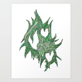 The Vines of Time and Strife Art Print