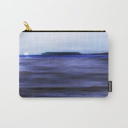 Distant Islands in the moonlight Seascape Carry-All Pouch