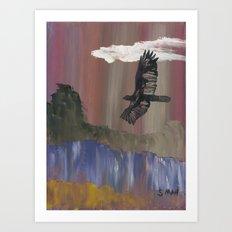 Eagle Break Art Print