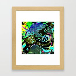 Super villain Himiko Toga Framed Art Print