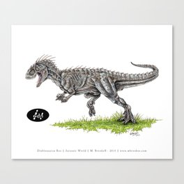 Jurassic World - Indominus Rex (I-Rex) Canvas Print