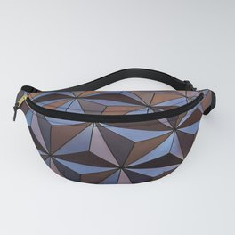 Triangle Steel patt Fanny Pack