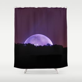 Light in Montreal Shower Curtain