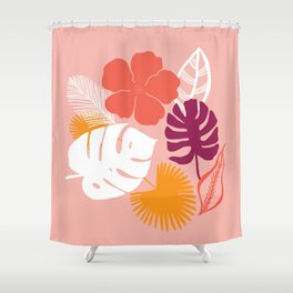 aloha, print Shower Curtain